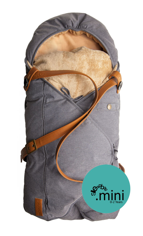 Image of   Sleepbag.dk Babysovepose Mini - Denim