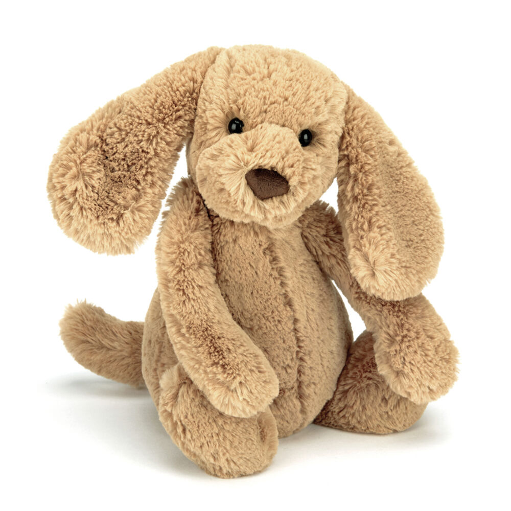 Image of JellyCat Bashful Hund - Toffee 18 Cm (e2b75ad4-20ca-462b-bf21-7302e10aea12)