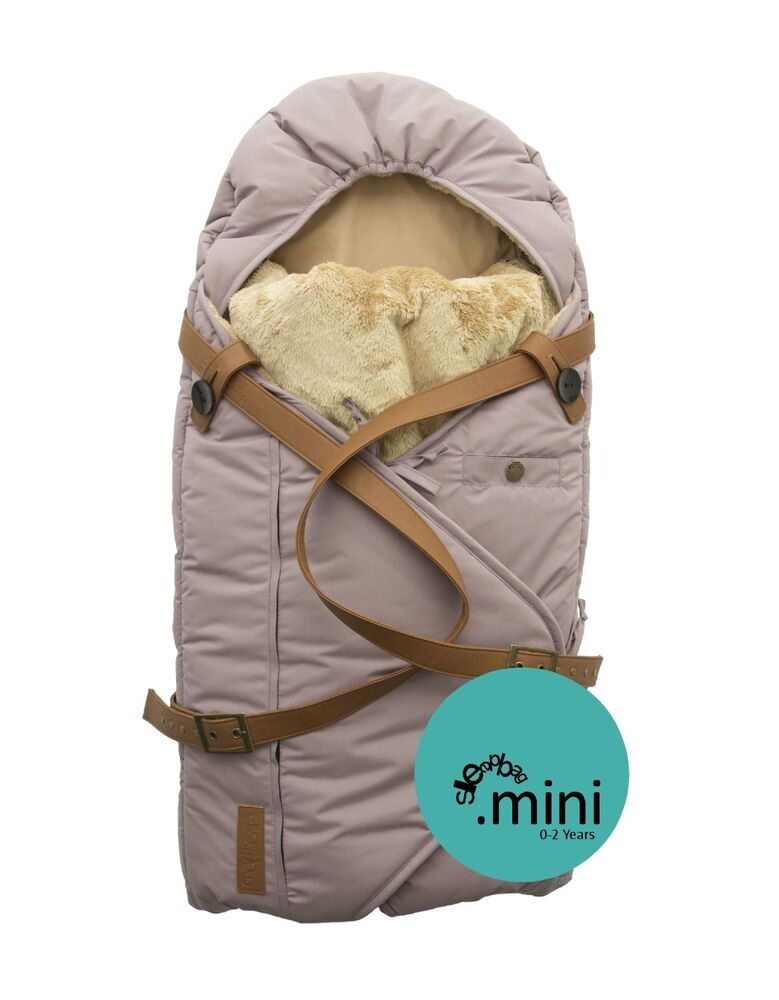 Image of   Sleepbag.dk Babysovepose Mini - Quail/Brun