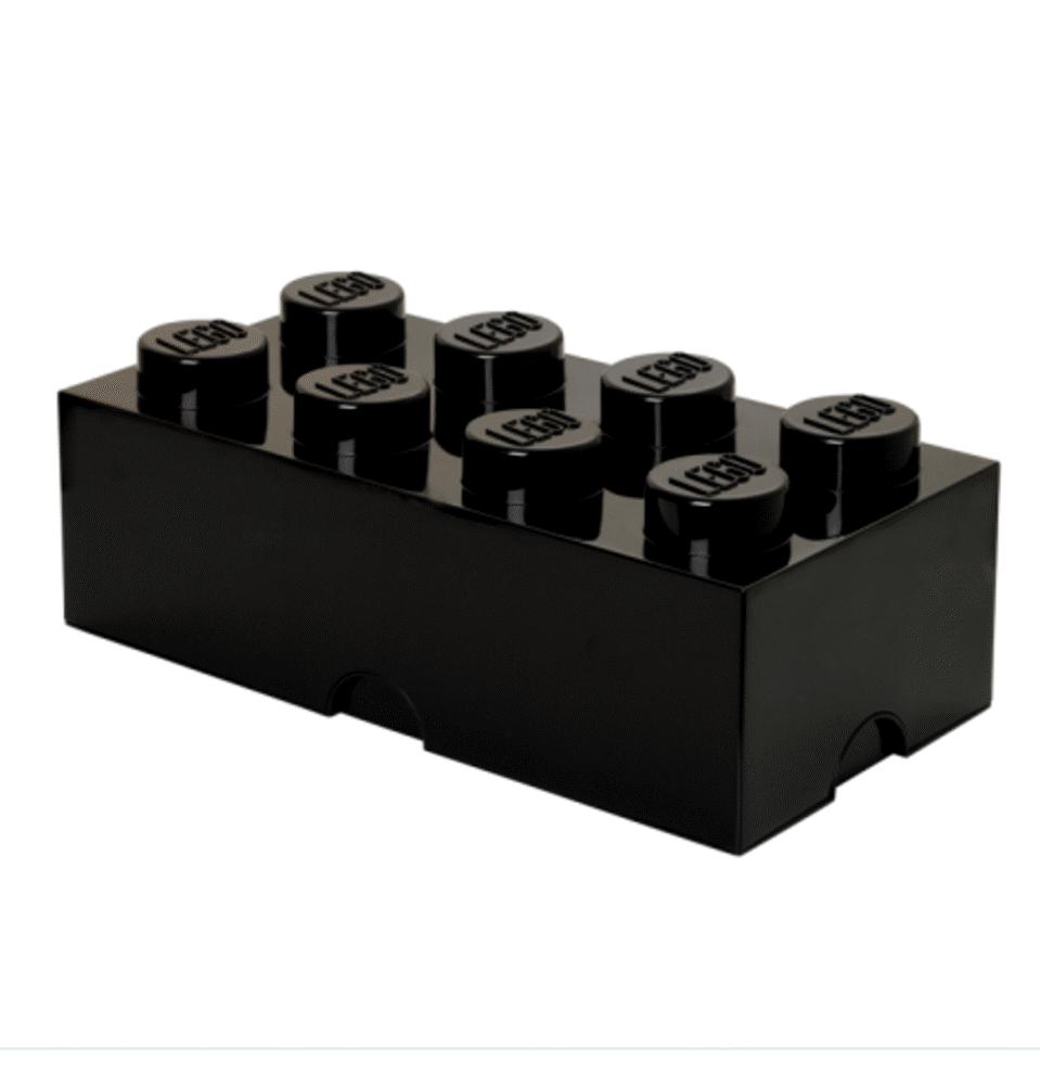 LEGO Storage Lego Opbevaringkasse 8 - Sort - Opbevaring - LEGO Storage