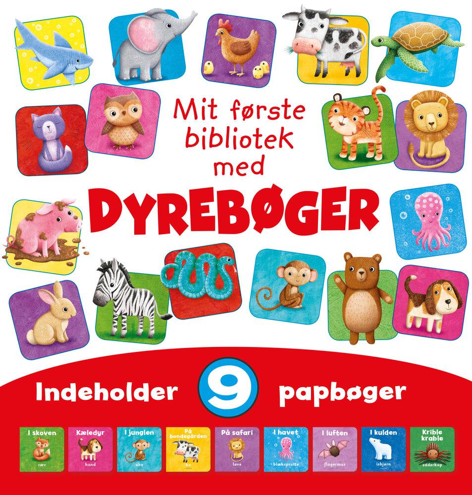 Image of Lindhardt og Ringhof Mit Første Dyrebibliotek (6b355f86-d7f1-4c40-8c4d-7400da4c1b66)
