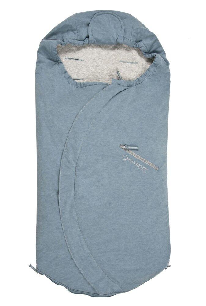 Image of   Easygrow Lite Kørepose - Blue Melange