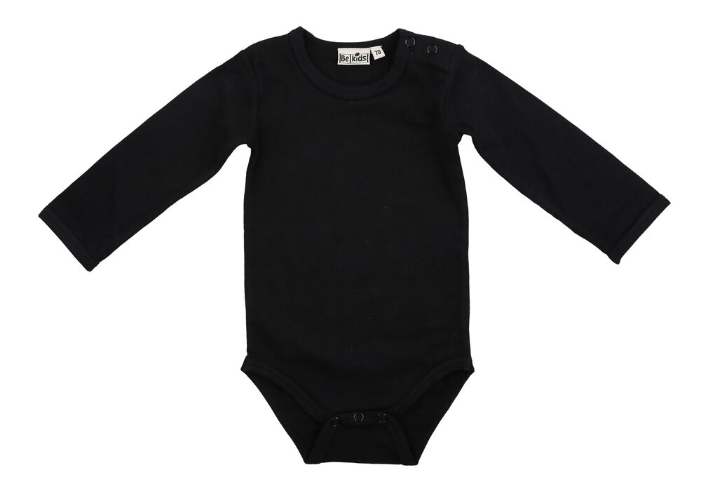 Image of   BeKids Body Lange Ærmer - 106/Black
