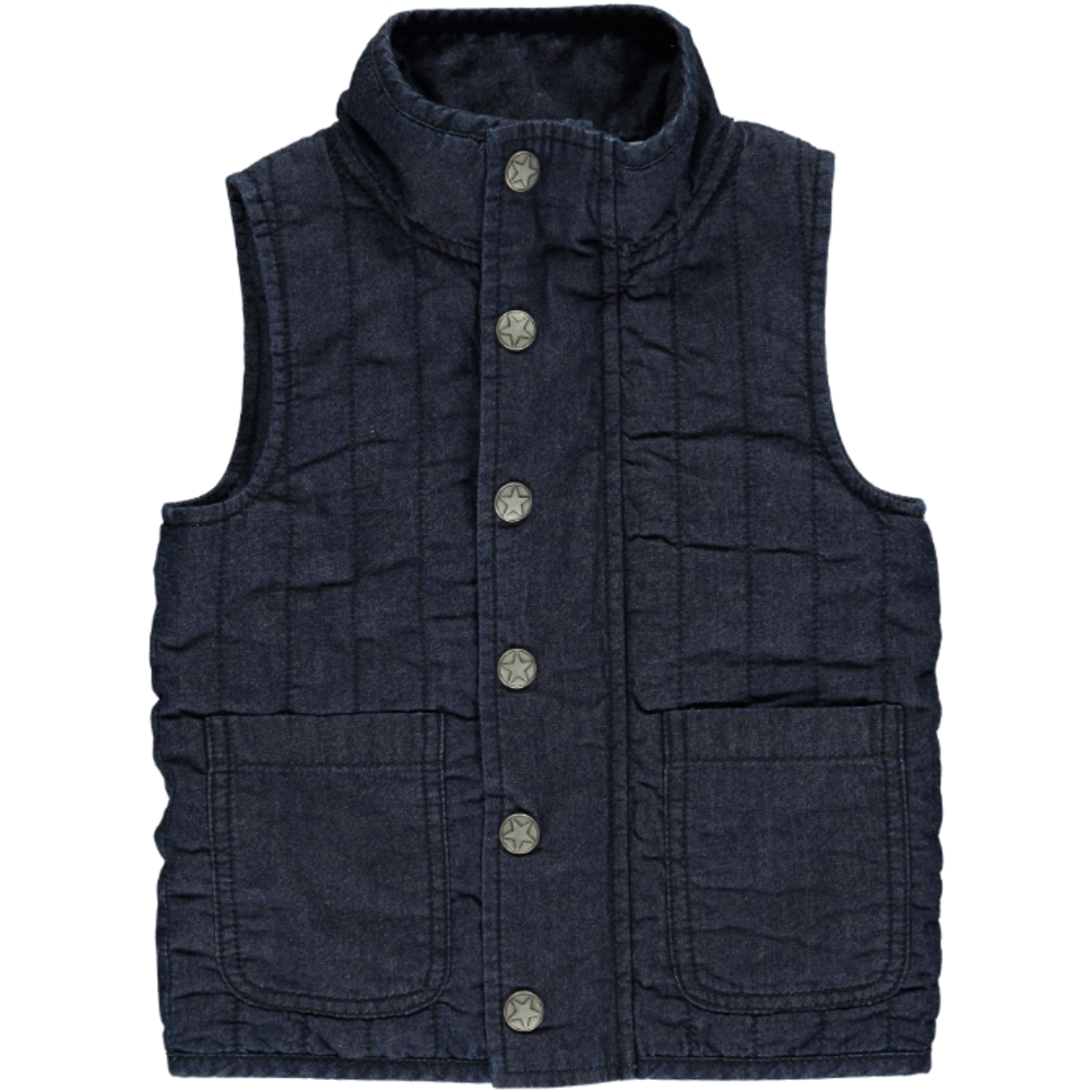 Image of   En Fant Rare Vest - Denim