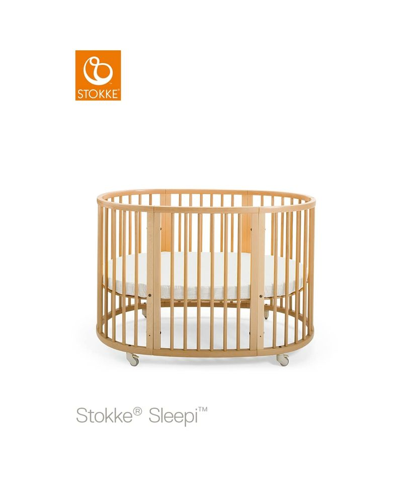Image of Stokke® Sleepi™ Seng - Natural (f93558f8-8a52-4717-b2e5-fadb1fc6be22)