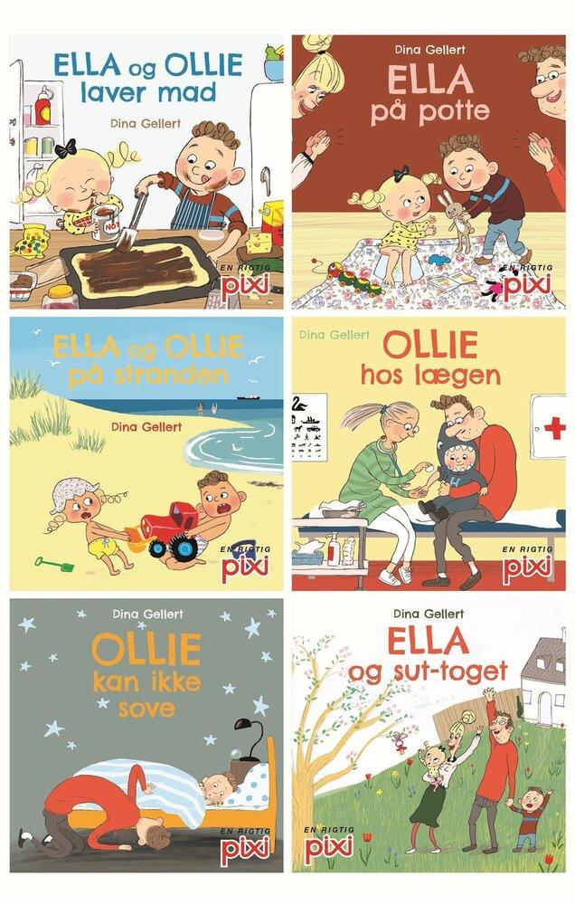 Image of Lindhardt og Ringhof Pixi-Serie 130: Ella Og Ollie (c43c17a8-a365-4860-9740-9feddebb764d)