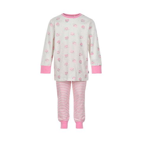 Pige Pyjamas Med Print - 111
