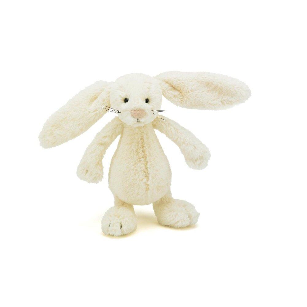 Kanin Bamse - JellyCat - Lille RåHvid