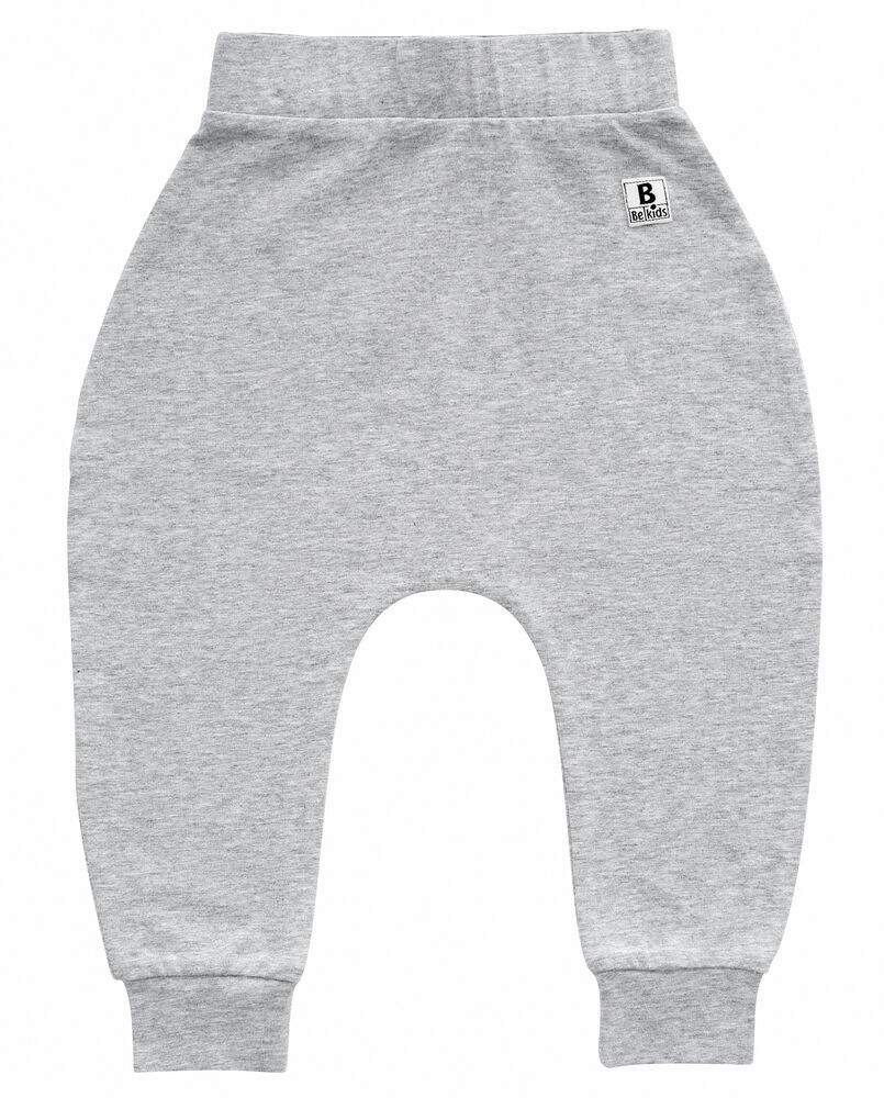 Image of   BeKids Pants-Uni - 123 GRÅ