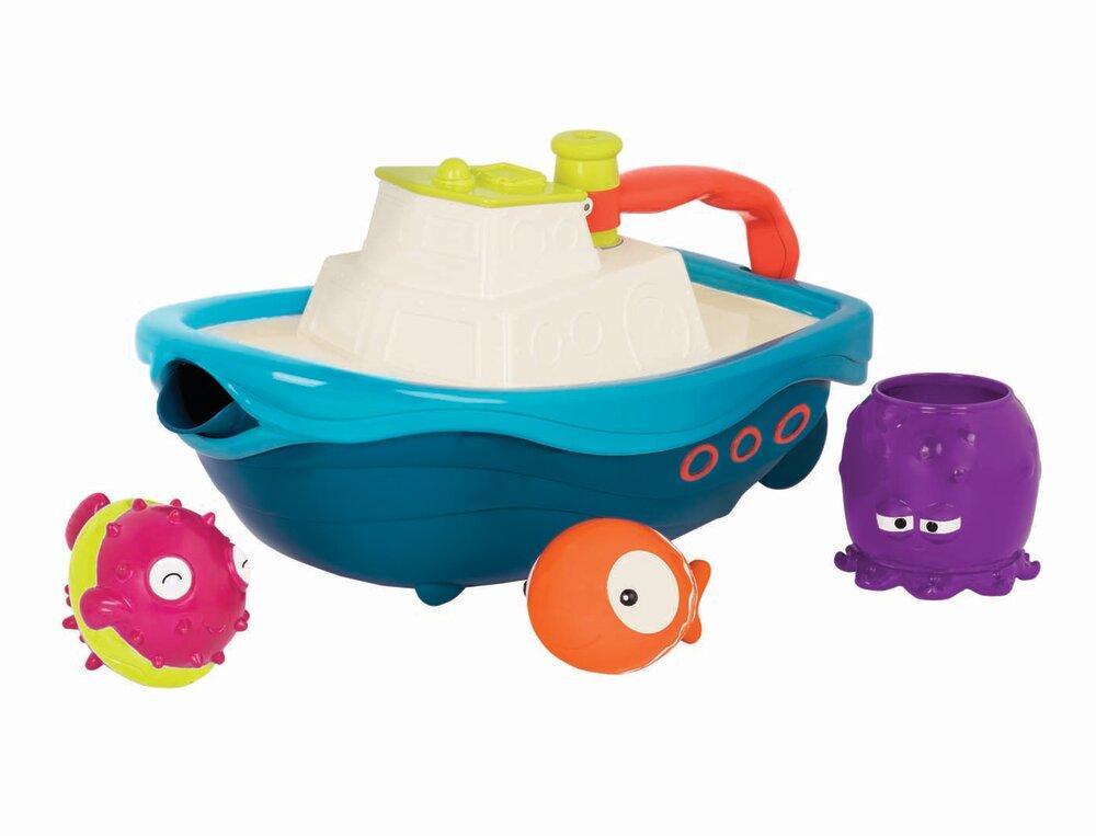 Image of   B Toys B. båd med badelegetøj