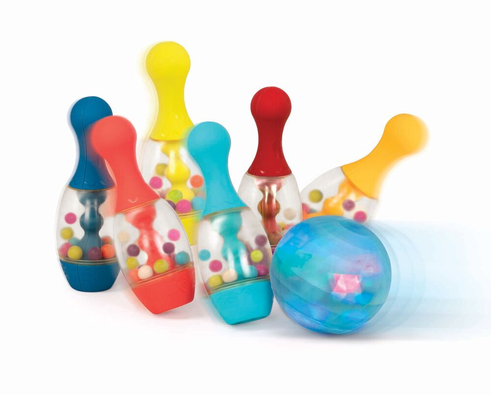 Image of   B Toys Lets Glow Bowling