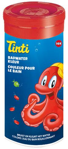 Badevandsfarver, 10 Styk, Rød