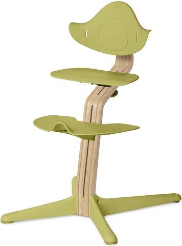 Højstol Lime m. Lys Eg/Bøg
