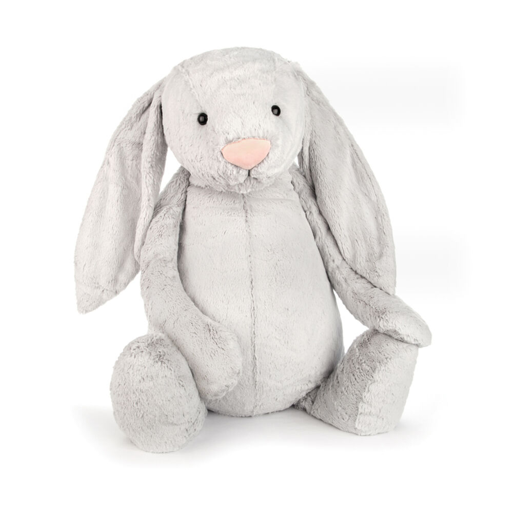 Image of JellyCat Bashful Kanin - Silver 108 Cm (5ad4ad0b-26a4-4aa8-8ea8-799208794402)