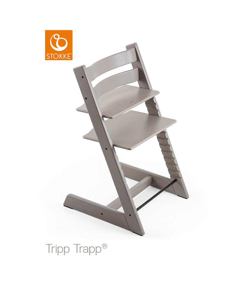 Image of TRIPP TRAPP® Højstol - Oak Greywash (892f875c-a5c6-4d06-94f7-315b849c0b86)