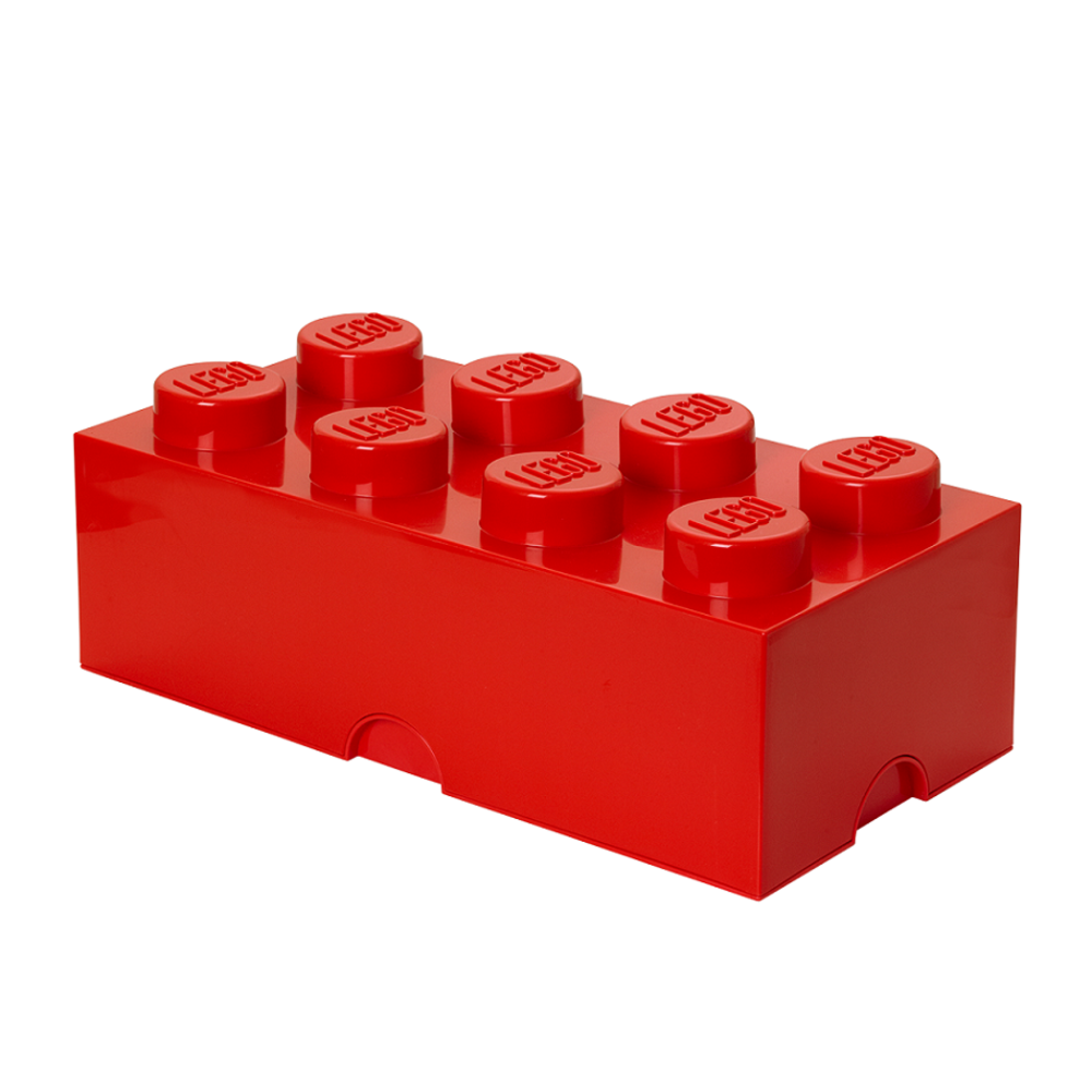 LEGO Storage LEGO Opbevaringskasse 8 - Rød - Opbevaring - LEGO Storage