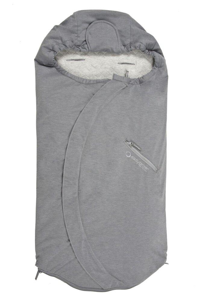 Image of   Easygrow Lite Kørepose - Grey Melange
