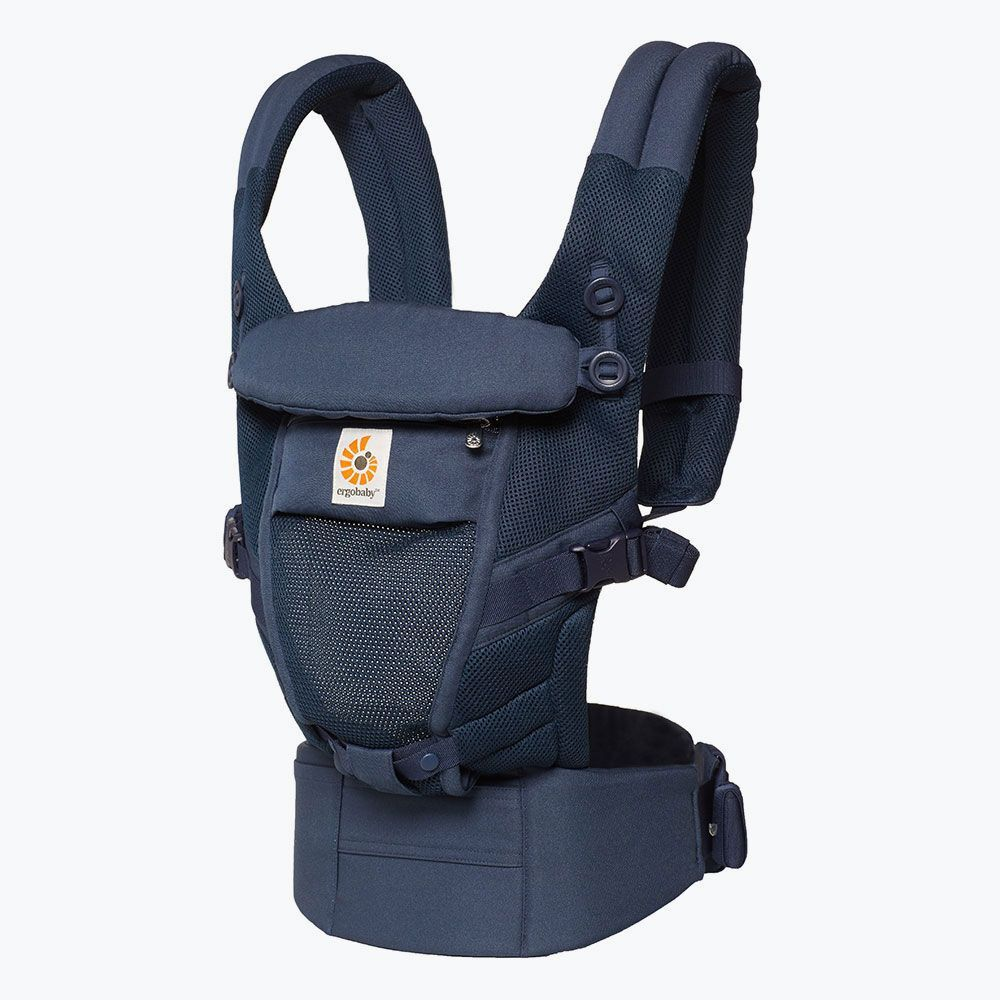 Image of Ergobaby Adapt Cool Air Mesh Bæresele - Deep Blue (10ac5344-e860-4e8e-94e6-d8afa946f948)