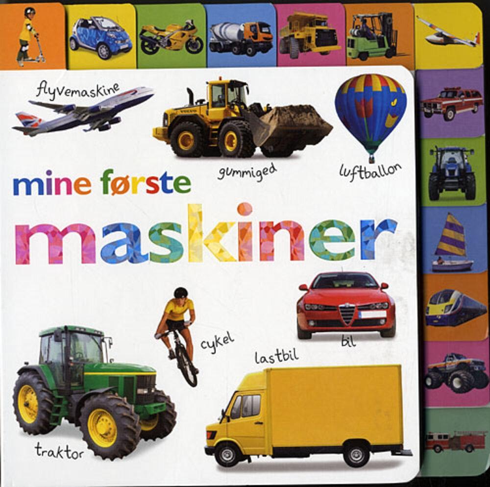 Lindhardt og Ringhof Mine Første Maskiner - Børnebøger - Lindhardt og Ringhof