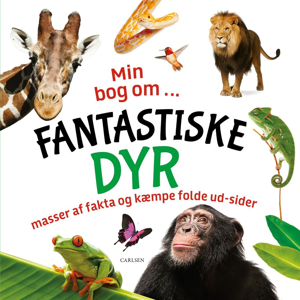 Image of Lindhardt og Ringhof Min Bog Om Fantastiske Dyr (3387f822-1fb5-4205-8e62-139816377af6)
