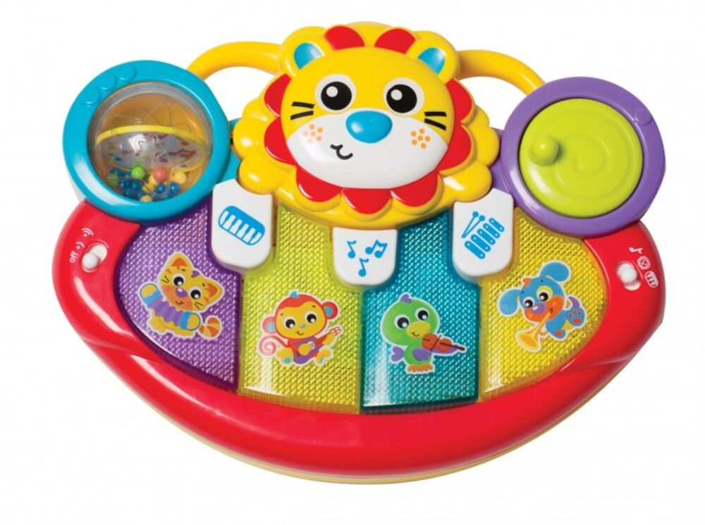 Image of Jerry´s Class Lion Activity Kick Toy Piano (80cafc9a-2292-4098-9cab-22ff27df44b9)