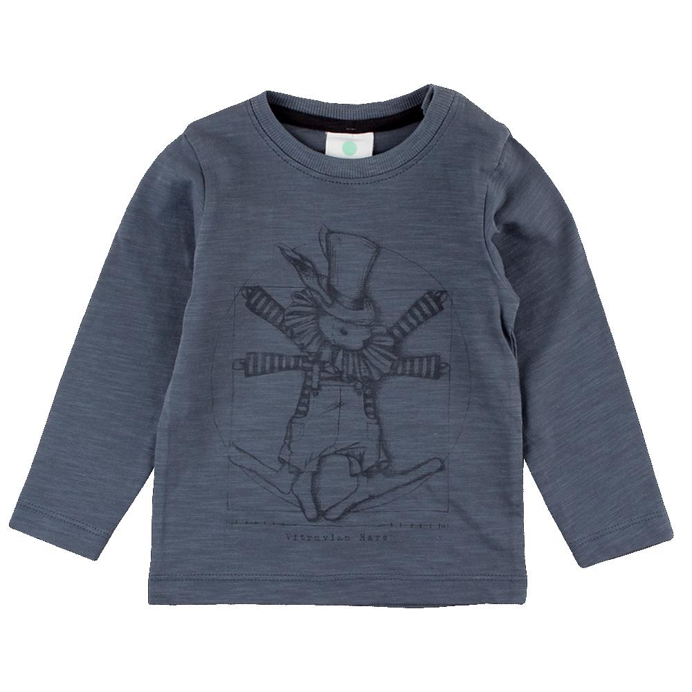 Image of   En Fant Gate Langærmet T-Shirt - 30-10 Blå