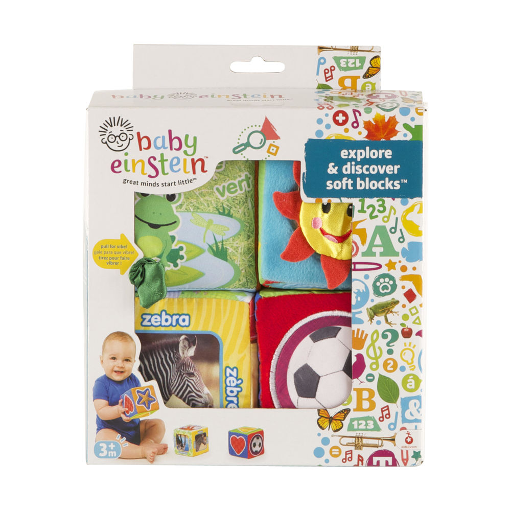 Image of   Baby Einstein Explore & Discover Soft Klodser