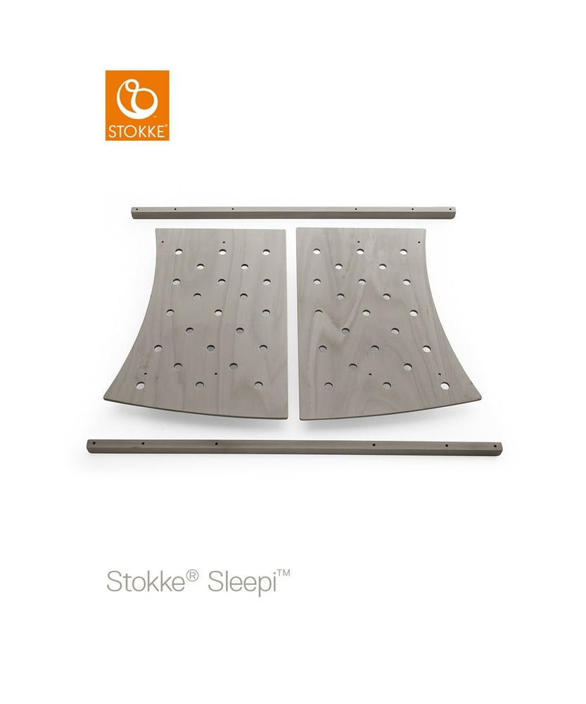 Image of Stokke® Sleepi™ Junior Forlængersæt - Hazy Grey (b849f534-b598-40e2-9e86-3afb8dac19ef)