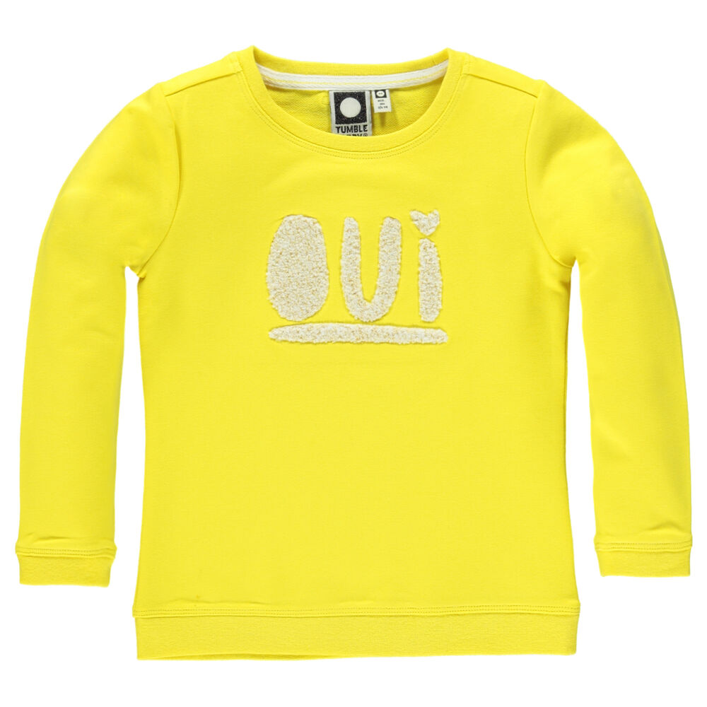 Image of Tumble´n Dry Amberly Sweatshirt - Yellow Corn (a948155e-2d0e-4727-bb4b-c835c184c7f4)