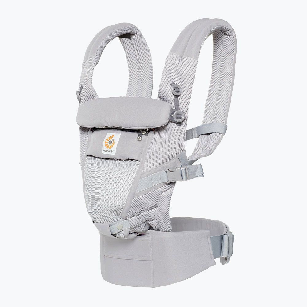 Image of Ergobaby Adapt Cool Air Mesh Bæresele - Pearl Grey (3f4e593d-0b06-400f-8873-5952969fcc53)