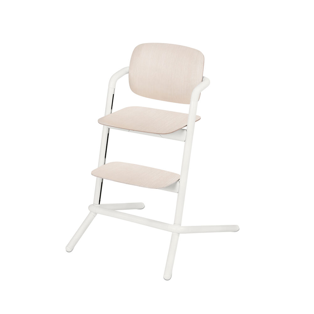 Image of   Cybex LEMO Højstol Wood - Porcelain White