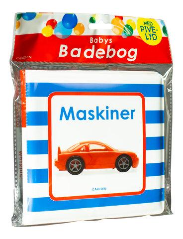 Babys Badebog: Maskiner