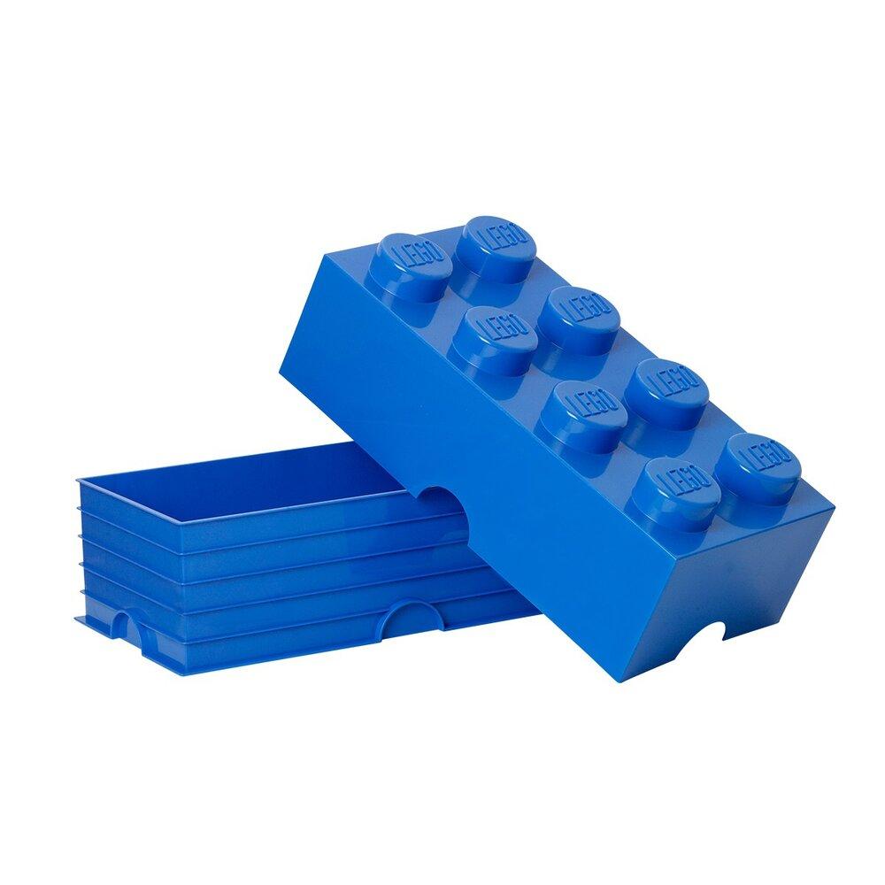 LEGO Storage Lego Opbevaringskasse 8 - Bright Blå - Opbevaring - LEGO Storage