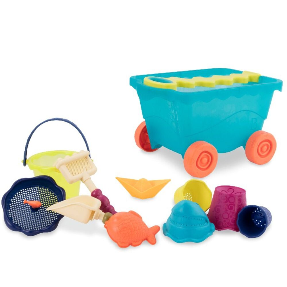 Image of   B Toys Wavy-Wagon - Blå