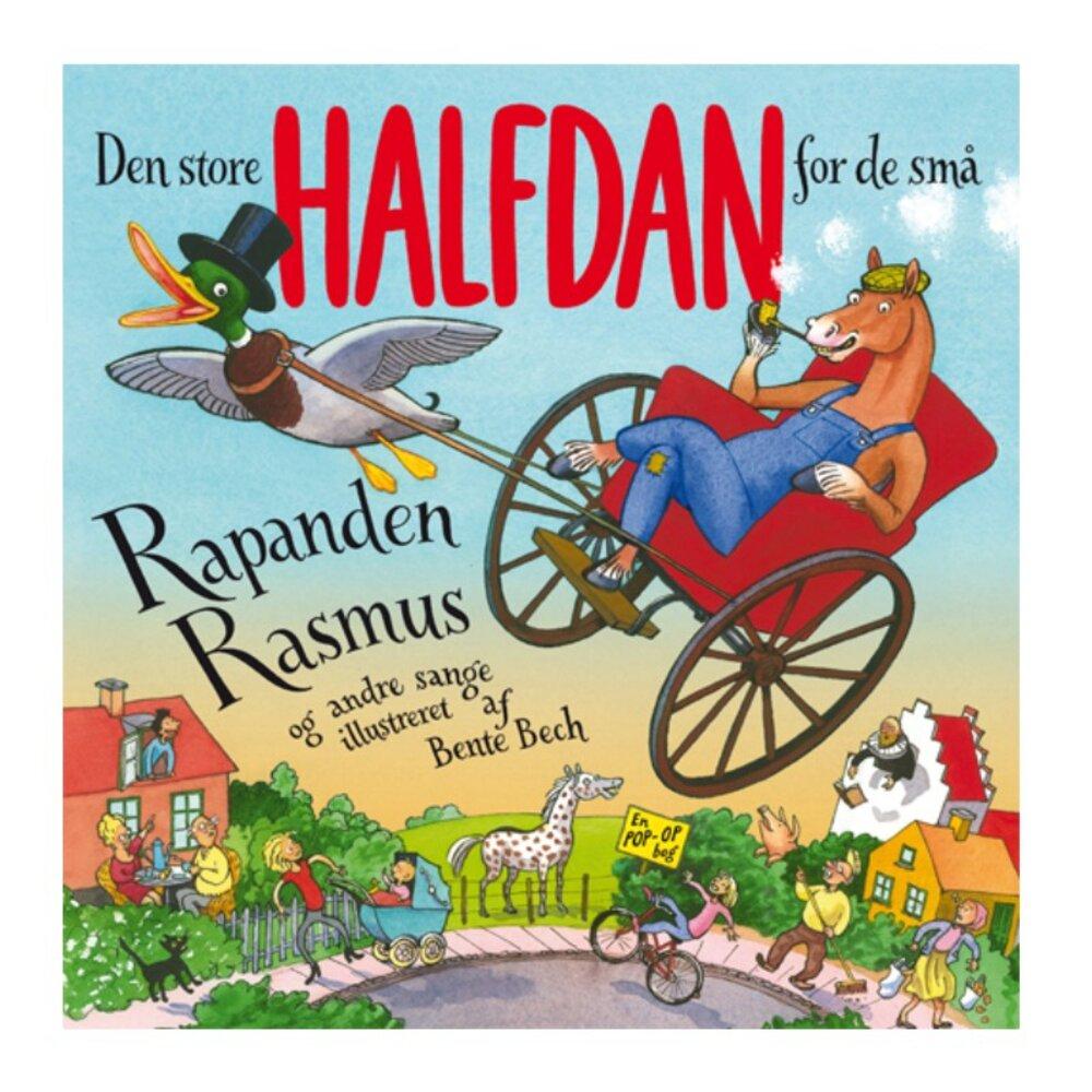 Image of   Alvilda Den store Halfdan for de små: Rapanden Rasmus og andre sange.