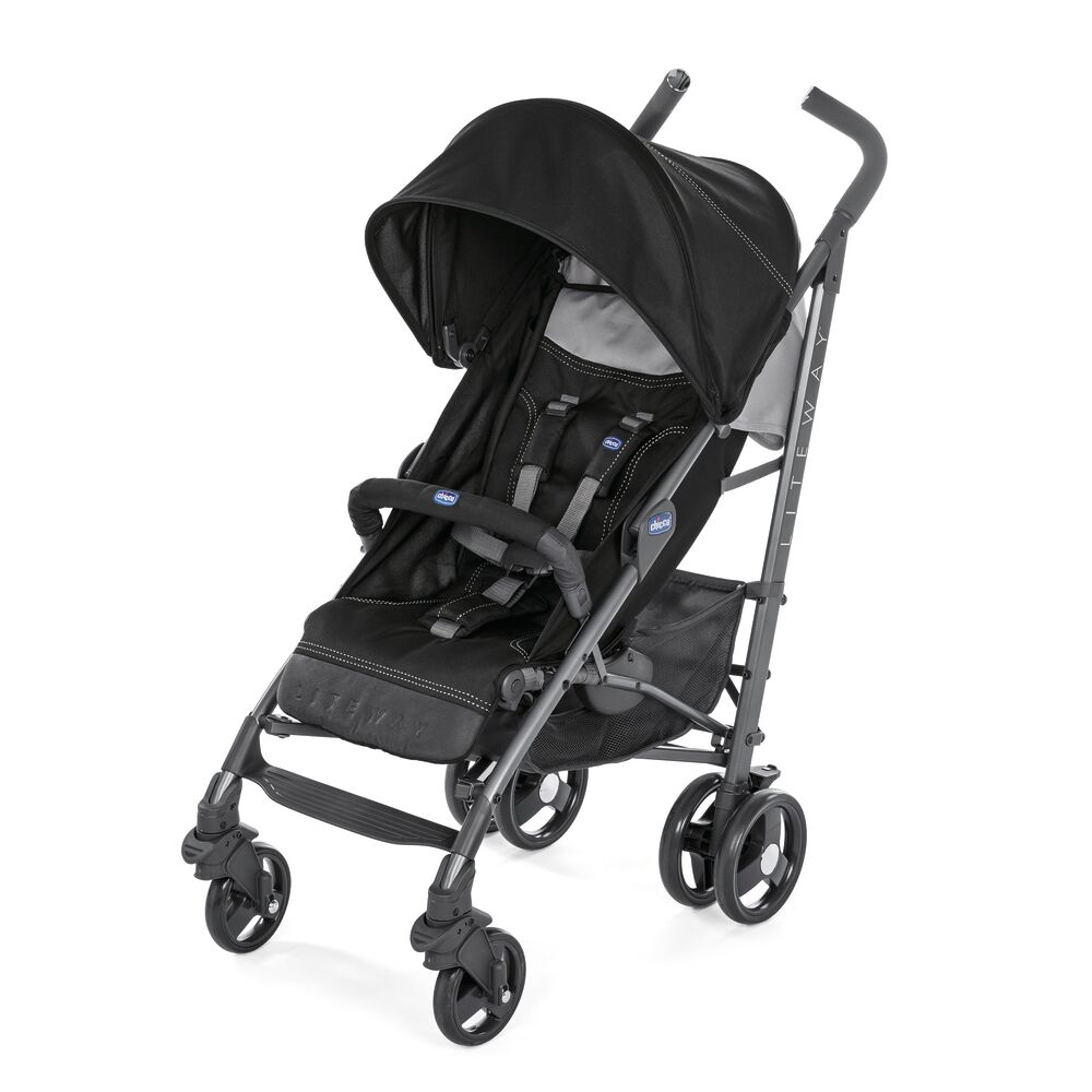 Image of   Chicco Lite Way 3 Jet Black