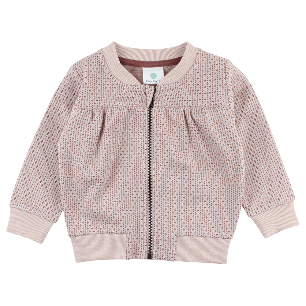 Image of   En Fant Gate Cardigan - 02-27 ROSE