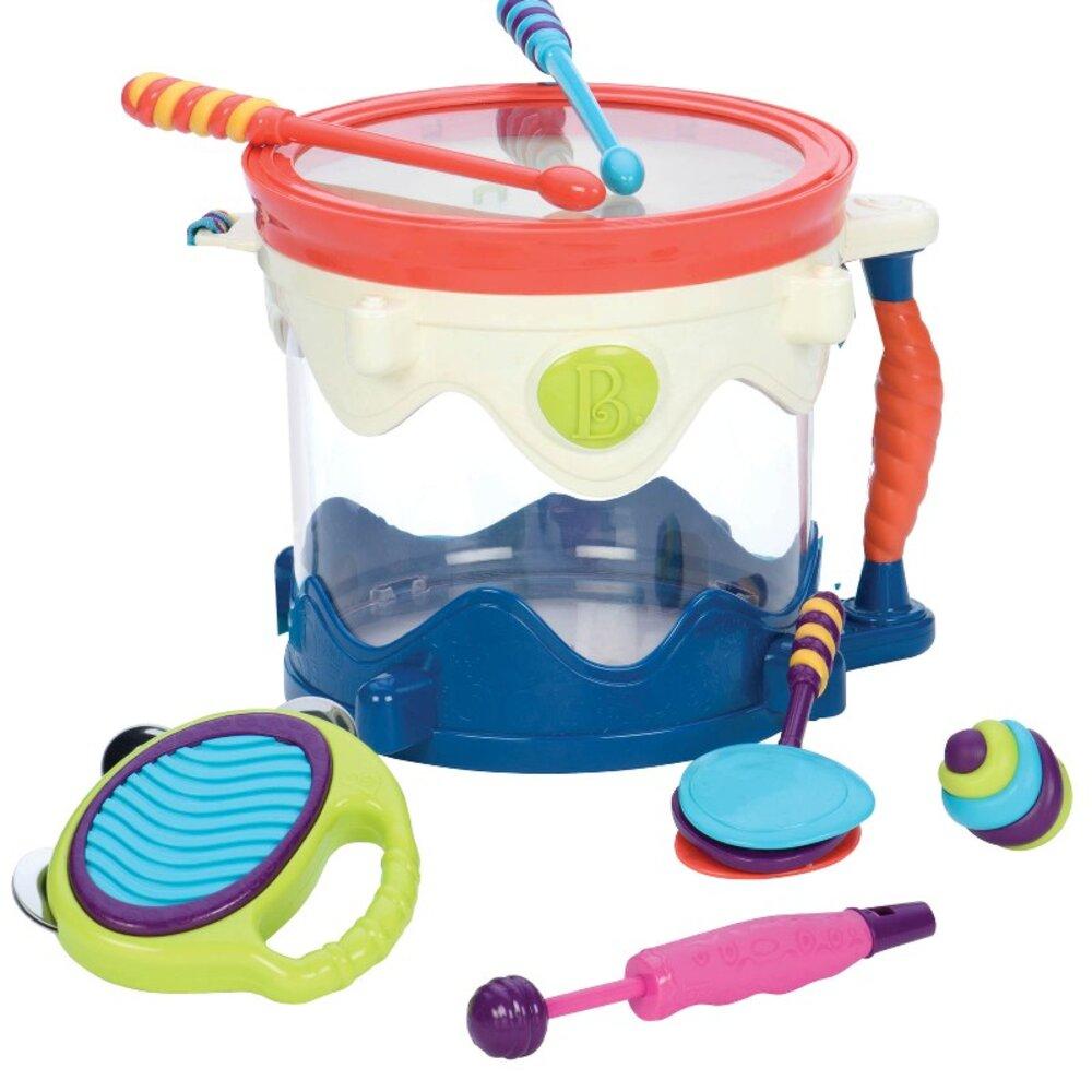 B Toys Drumrool tromme - Musiklegetøj - B Toys