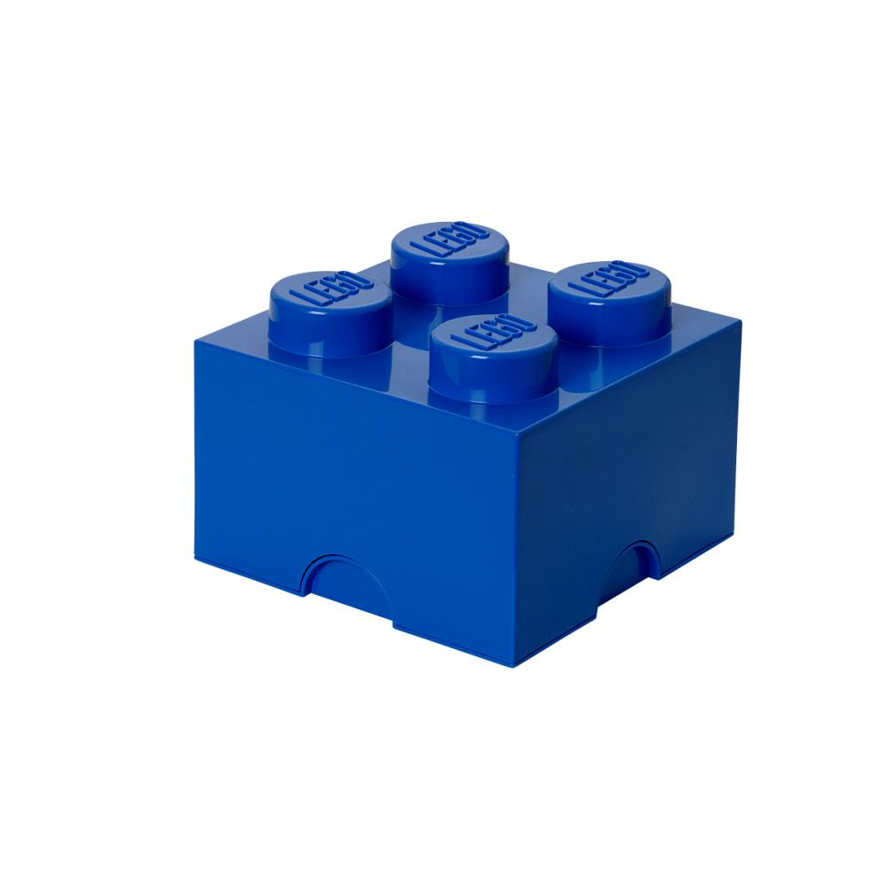 LEGO Storage Lego Opbevaringskasse 4 - Bright Blå - Opbevaring - LEGO Storage