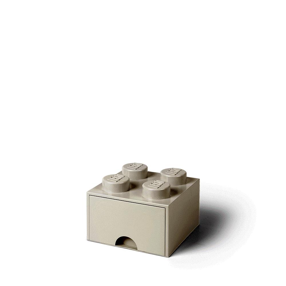 LEGO Storage LEGO Opbevaringsskuffe Brick 4 - Hvid - Opbevaring - LEGO Storage