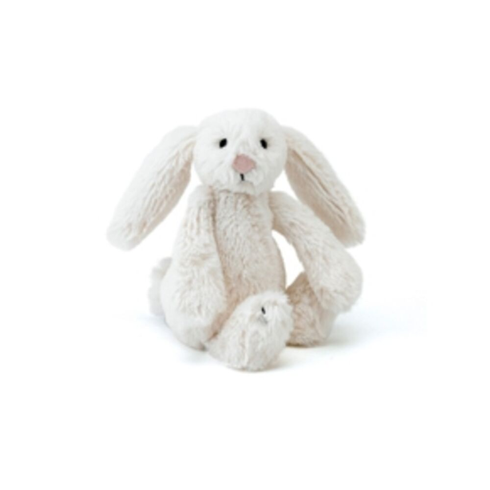 Image of JellyCat Bashful Kanin - Creme - 13 Cm (063e2601-3756-436d-84cd-11d40483acac)