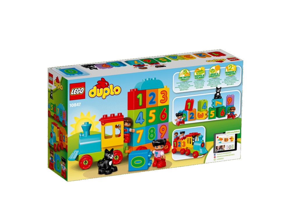 LEGO® DUPLO® Tog Med Tal - 10847 - Byggesæt & klodser - LEGO