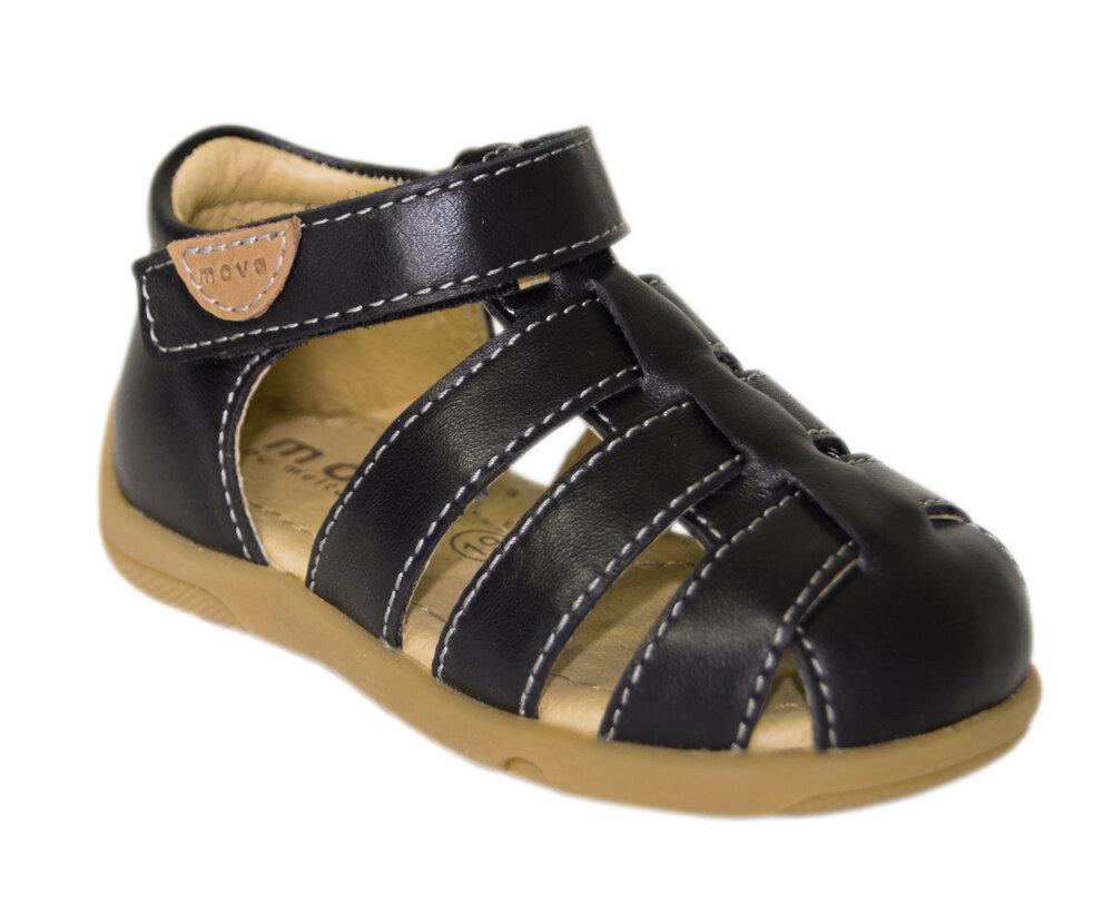 Move Sandal M. Velcro - Black