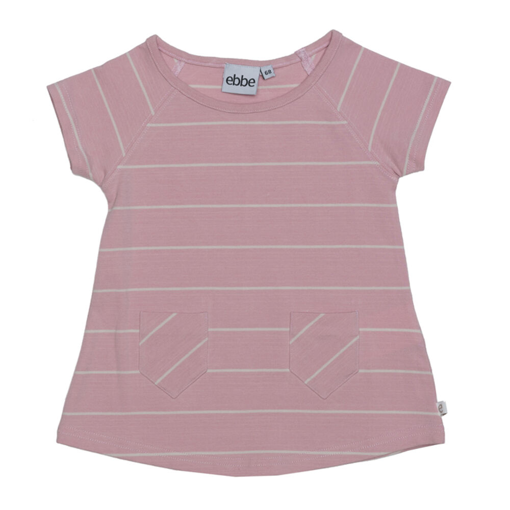Image of   ebbe Erin A-Line Kjole - Pink/Offwhite