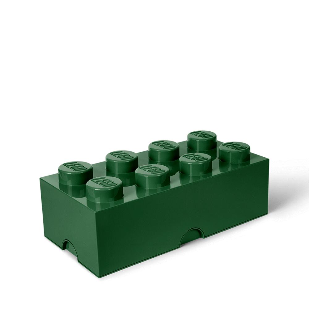 LEGO Storage LEGO Opbevaringskasse 8 - Sand Grøn - Opbevaring - LEGO Storage