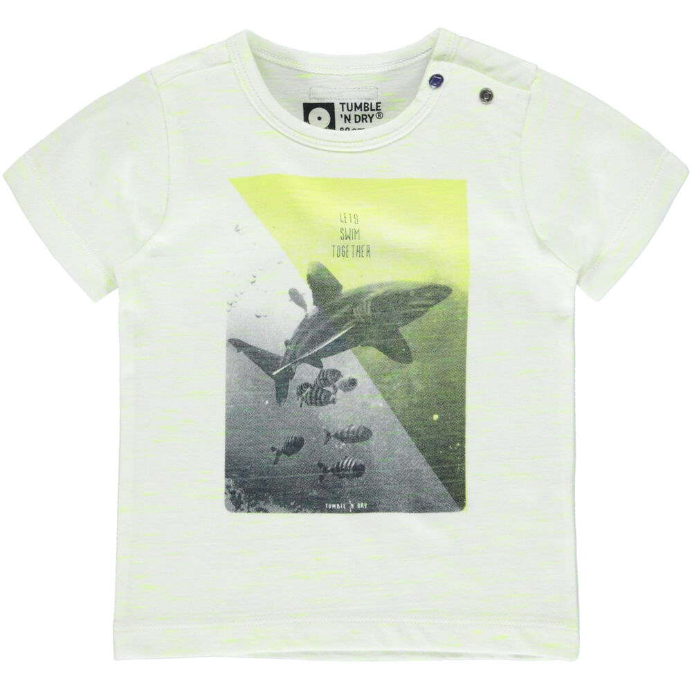 Image of Tumble´n Dry Blicks T-Shirt - White (038618d3-7546-4609-8b99-b9c822745e3c)