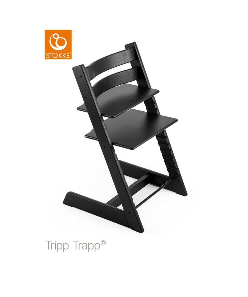 Image of TRIPP TRAPP® Højstol - Oak Black (7df2b487-ad90-4fee-a5fc-76aeaf992f3a)