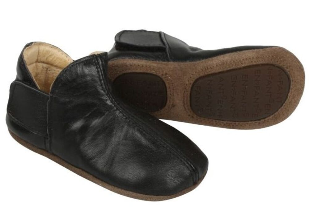 Image of   En Fant Adventure slipper 2 x velcro - -00 BLACK