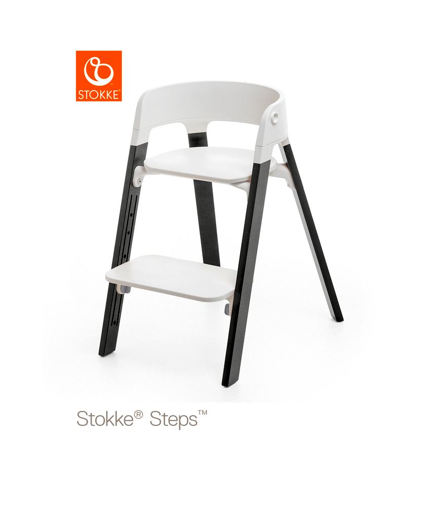 Stokke® Steps™ Højstol, Bøg -Stormy Grey thumbnail