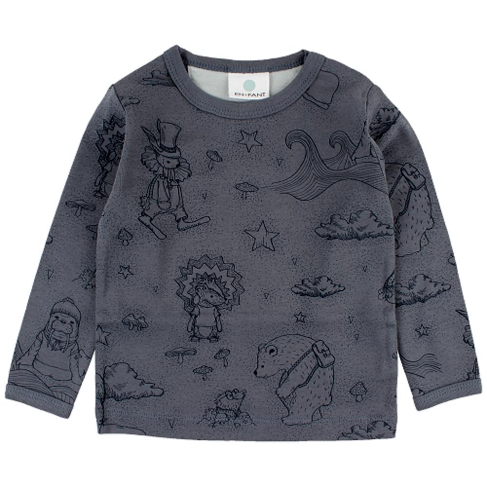 Image of   En Fant Forrest Langærmet T-shirt - 30-10 Blå